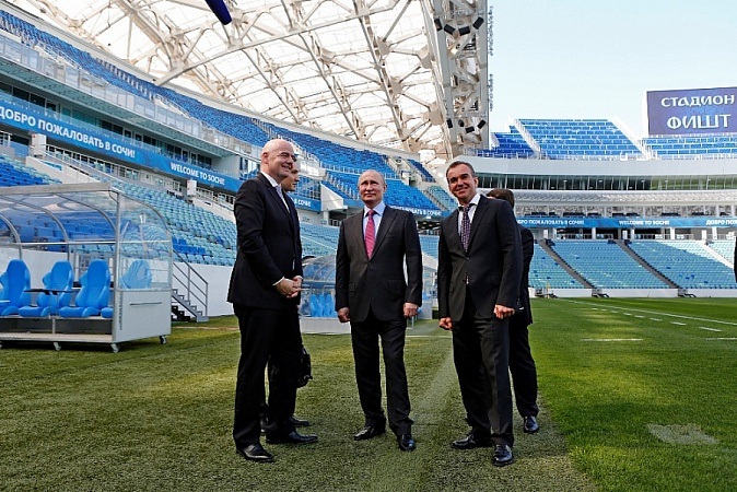 Sochi Meets Russia 2018 Organising Committee Supervisory Board