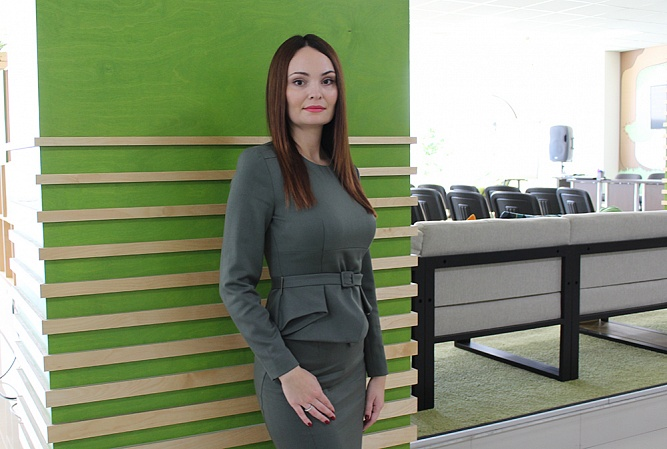 Oksana Kovalenko: Authorities Are Ready to Support High-Priority Branches  of Regional Industry