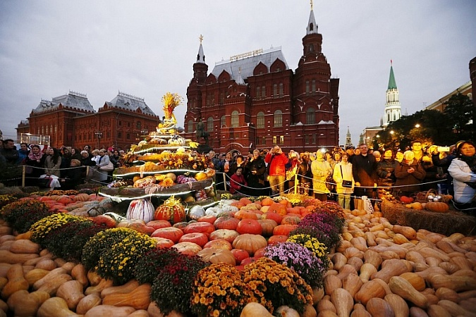 Kuban Farmers Present in Moscow