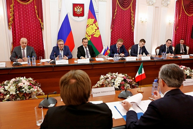 Kuban, Italy Strengthen Business Relations