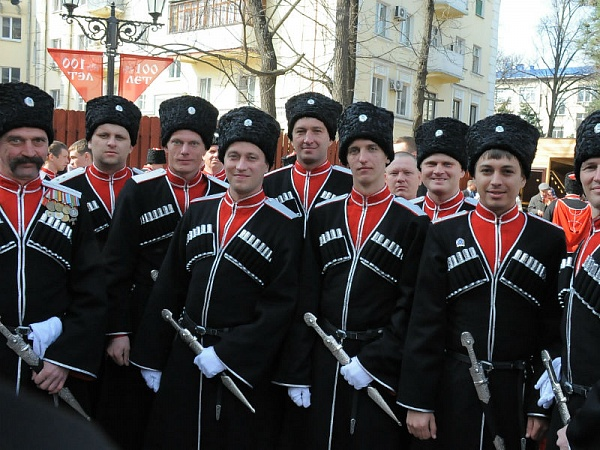 Cossacks from Throughout Russia Come to Krasnodar