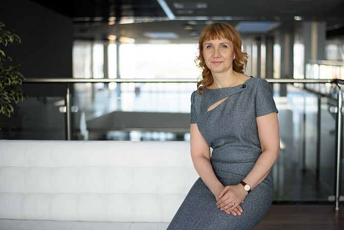 "Irina Dolgova: ""Striving for  Development Makes Us  Undisputable Market Leaders"""